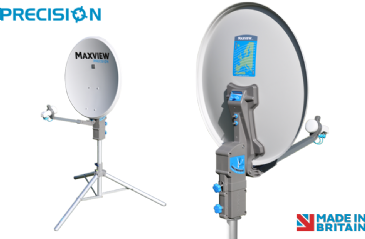 Maxview PRECISION 55cm / 65cm / 75cm Satellite System with Single or Twin LNB